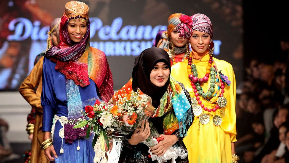 Dian Pelangi is Indonesia's leading designer of modest fashion (Credit: Getty Images)