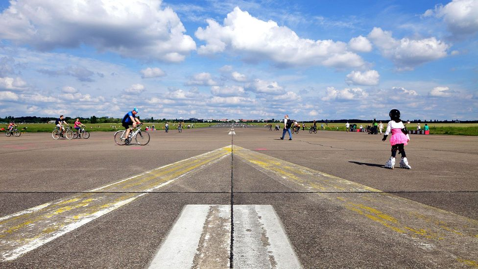 Berlin's empty airport gets new life (Credit: Muhs/Alamy)