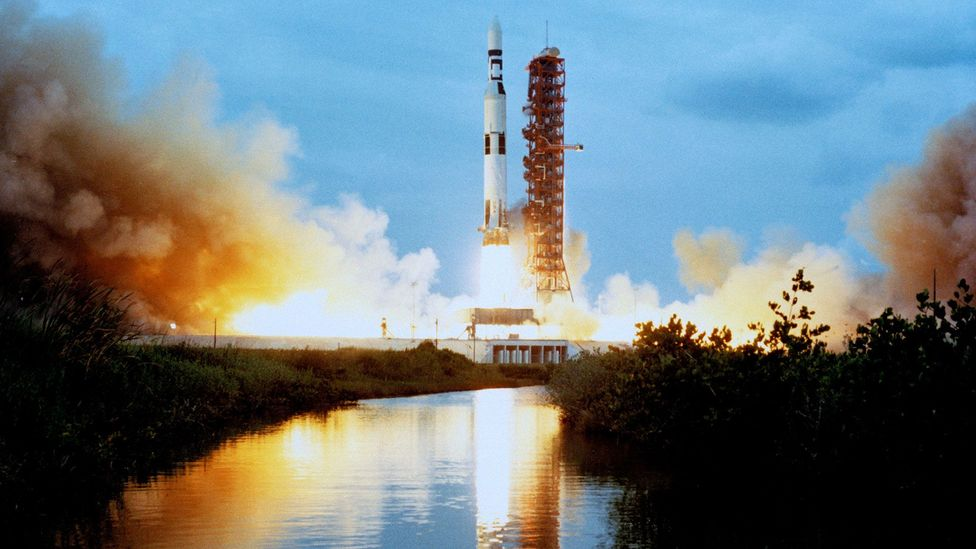 With the race to the Moon won, Nasa needed a new mission – which led to the launch of Skylab (Credit: Nasa)
