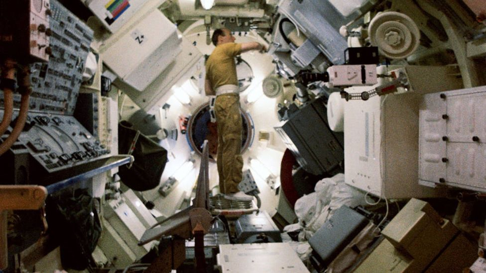 The Skylab 'mutiny' helped planners realise the complexities of prolonged living in space (Credit: Nasa)