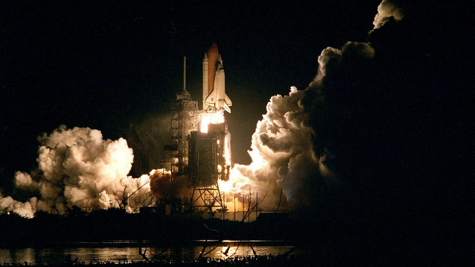 The emerging space station provided the Space Shuttle fleet the job of resupply and replacing crews (Credit: Nasa)