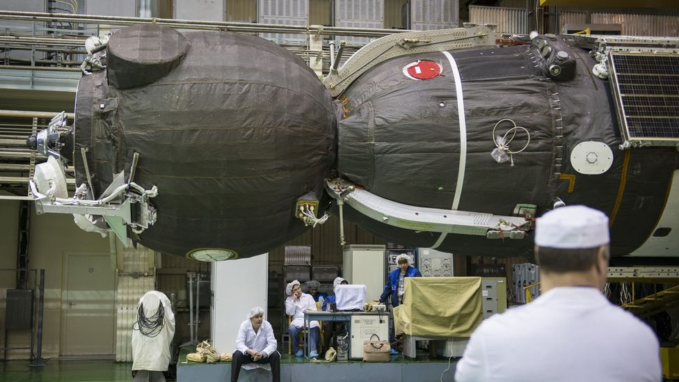 The simulators use exactly the same instruments as those in a real Soyuz spacecraft, seen here (Credit: Getty Images)