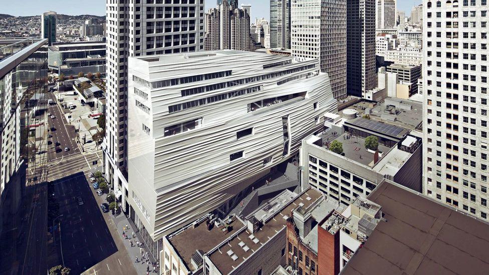 The San Francisco Museum of Modern Art in California, United States (Credit: Snohetta)