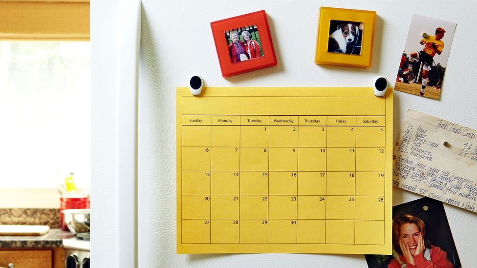 The virgin page of a new calendar marks a clean break between the old and new you - a psychological boundary that may help you keep your resolutions (Credit: Getty Images)