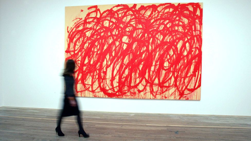 Modern artists – including Cy Twombly who produced a series of Bacchus paintings – have continued to be inspired by strong drink (Credit: Rex Features)