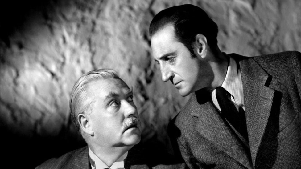 The key to Holmes' enduring success may be his adaptability to each age – Basil Rathbone's 1940s Holmes films were set in the present and had him fight Nazis (Credit: Wikipedia)