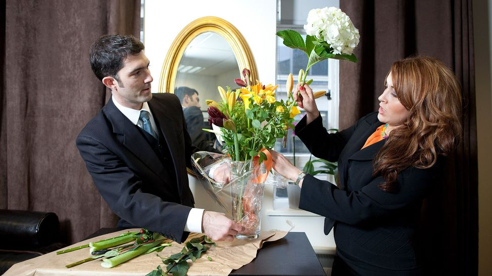 Butlering skills run the gamut from fire safety to flower arrangement (Credit: British Butler Academy)