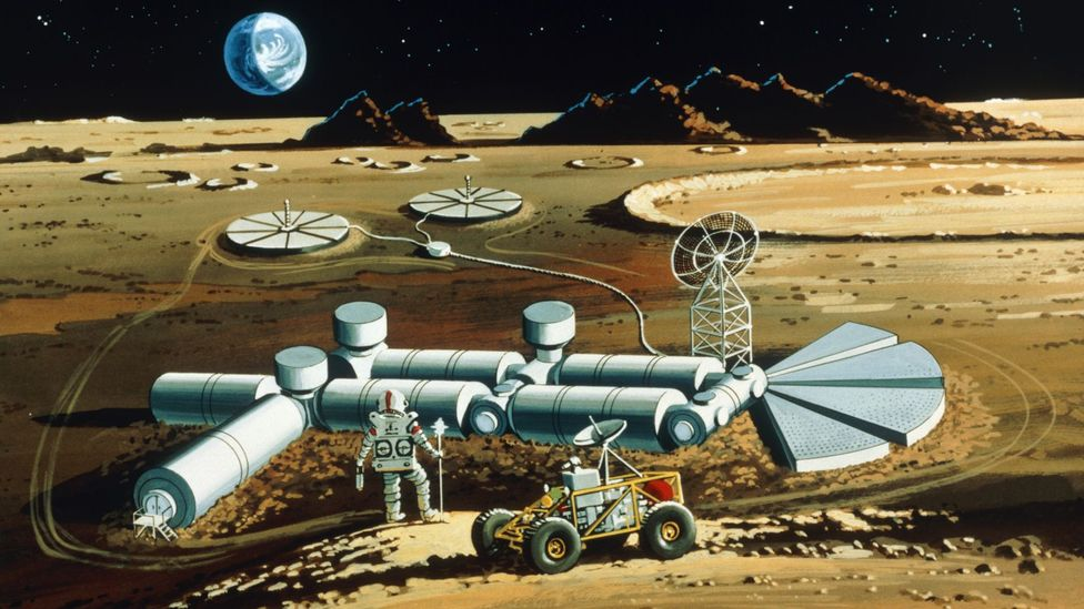 Future spaceship fuel might have to be used to help power a settlements like this as well (Credit: Science Photo Library)