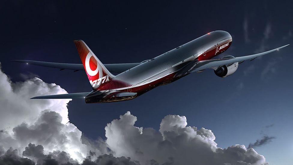 The Boeing 777X's wing design tweak may lead to dramatic fuel savings, Boeing says (Credit: Boeing)