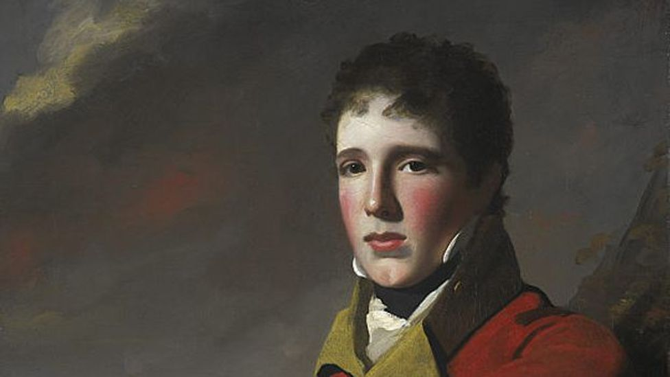 MacGregor in his younger days, years before he would call himself a 'prince' (Credit: George Watson/National Gallery of Scotland/Wikipedia)