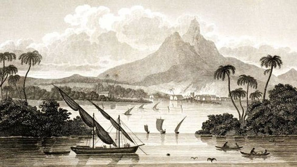 A picture, supposedly of Poyais, which MacGregor fabricated under a pseudonym (Credit: Wikipedia)
