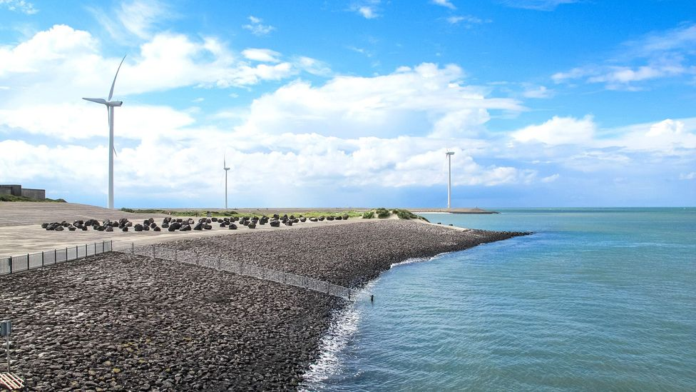 The Deltawerken flood defence system took more than 50 years to complete (Credit: Ann Babe)