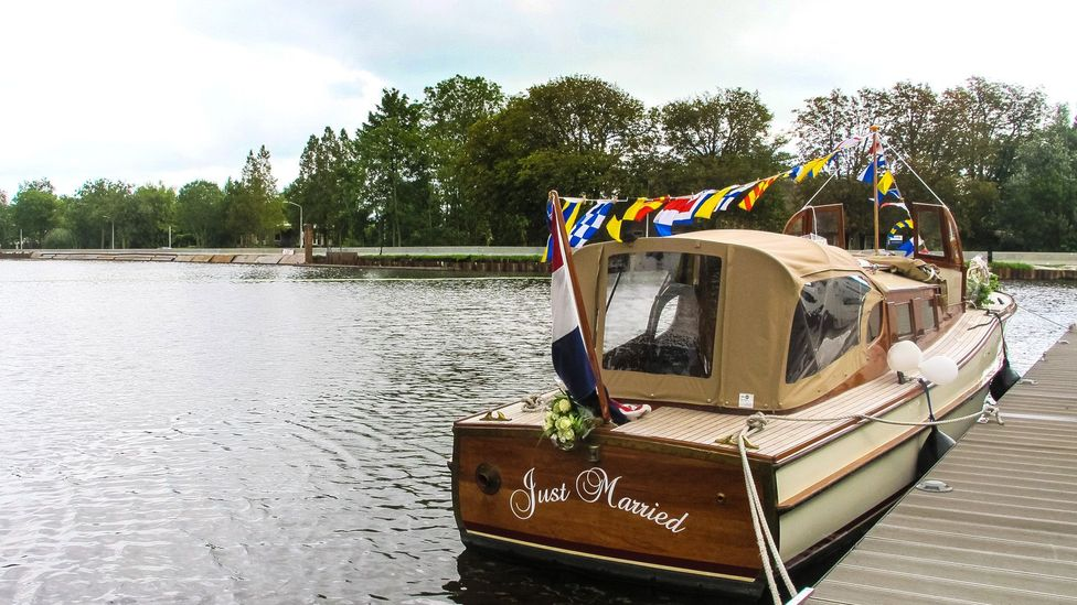 Water is part of life – even weddings – in The Netherlands (Credit: Ann Babe)