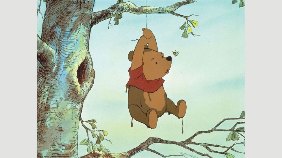 AA Milne wanted to leave more of a legacy than the 'bear of very little brain', shown here in the 1977 Disney film (Credit: ZUMA Press, Inc./Alamy)