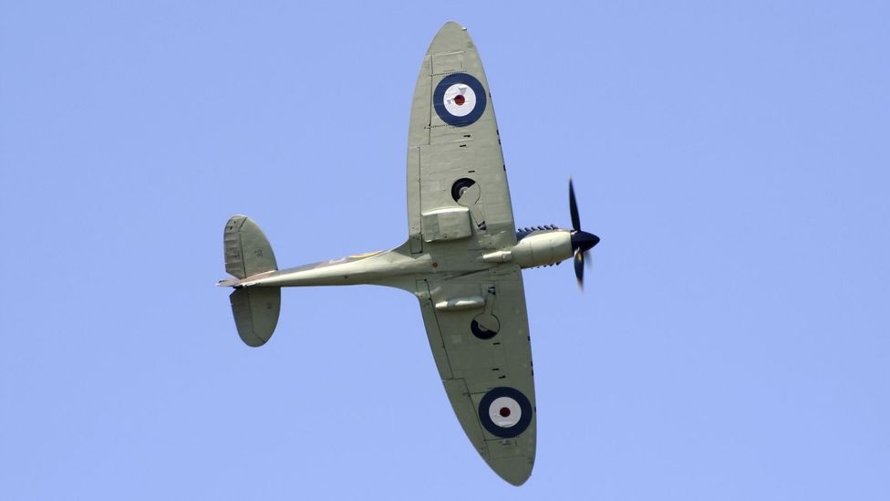 In the 1940s, most aircraft had elliptical wings, like the Spitfire seen here (Credit: iStock)