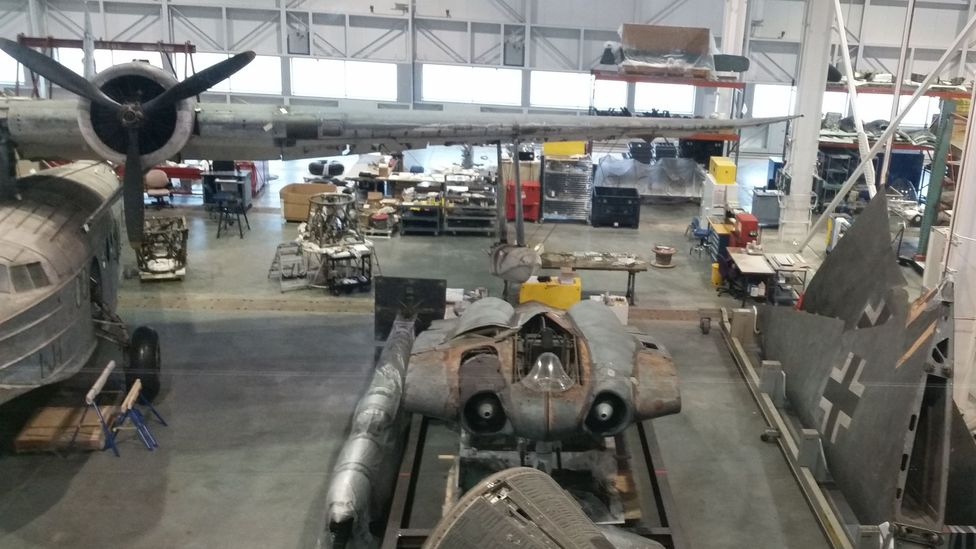The prototype Ho 229 is currently undergoing restoration (Credit: BrettC23/Wikipedia/CC BY-SA 4.0)