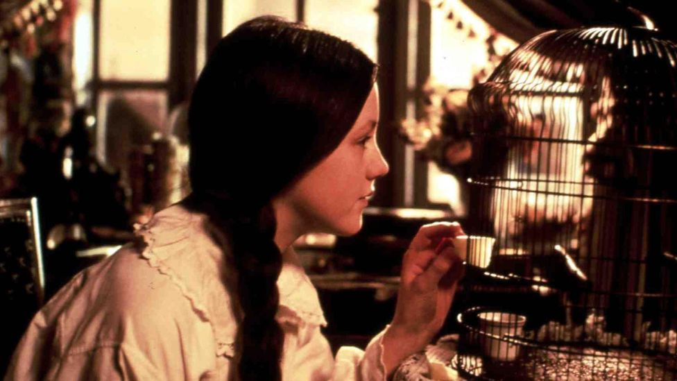 Sally Walsh as Little Nell in a 1995 film adaptation of The Old Curiosity Shop (Credit: United Archives GmbH/Alamy Stock Photo)