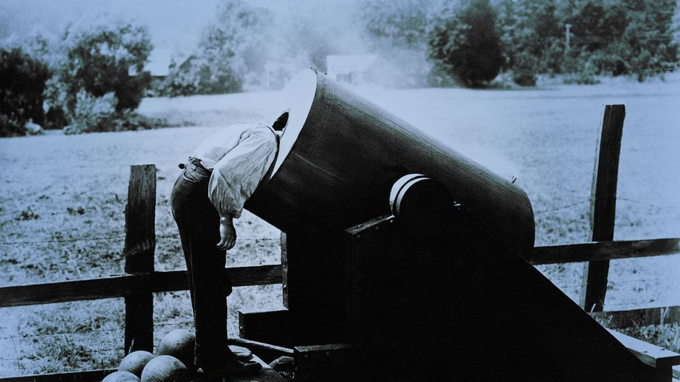 Buster Keaton in the 1927 film The General (Credit: cineclassico/Alamy Stock Photo)
