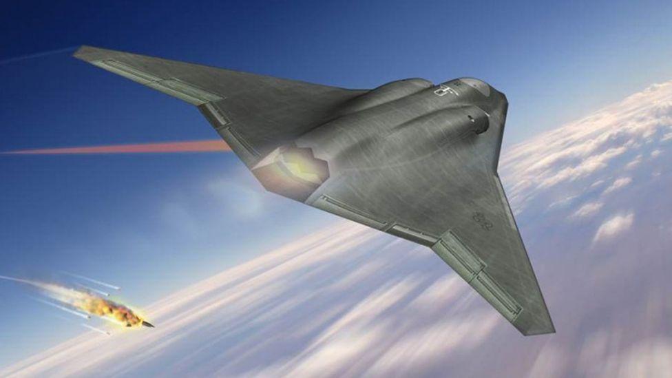 Northrop Grumman's concept for a flying wing fighter has similarities to the Hortens' innovative design (Credit: Northrop Grumman)