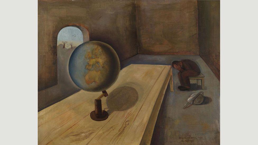 Felix Nussbaum, The Refugee (1939)