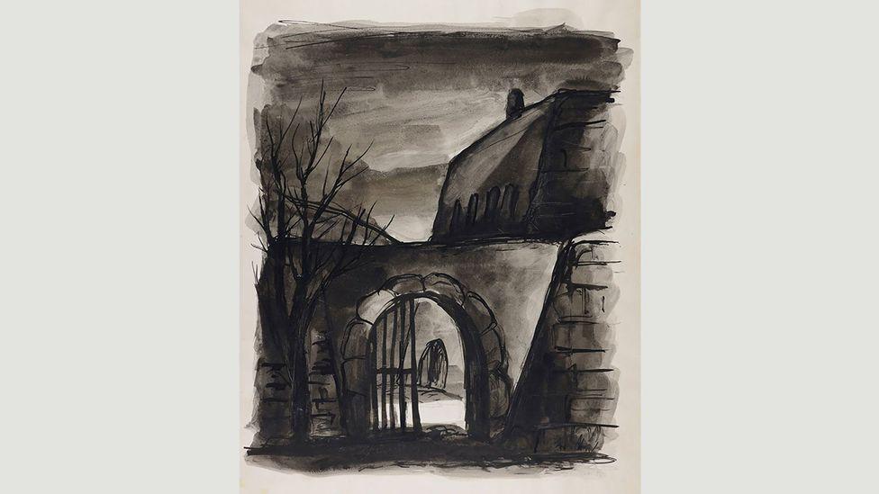 Bedrich Fritta, Rear Entrance (1941-1944)