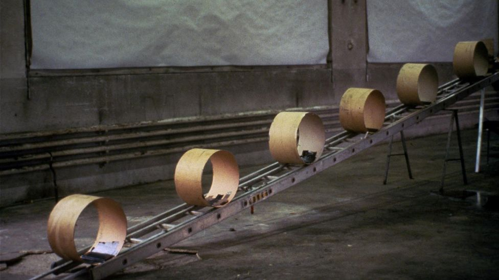 The Way Things Go by Fischli and Weiss (Credit: film still)