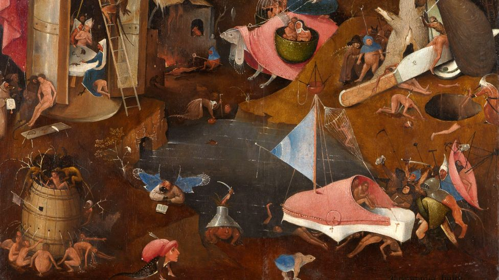 (Credit: Hieronymus Bosch/The Last Judgment/Photo Rik Klein Gotink and image processing Robert G Erdmann for the Bosch Research and Conservation Project)