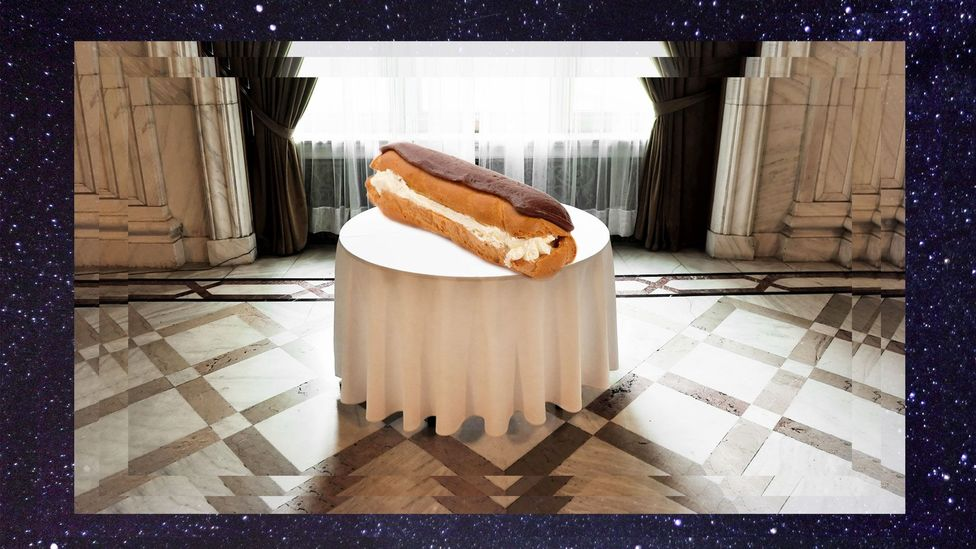 The dark humour of Dion McGregor's somniloquies is best revealed in Food Roulette, involving a poisoned éclair on a Lazy Susan (Credit: Olivia Howitt)
