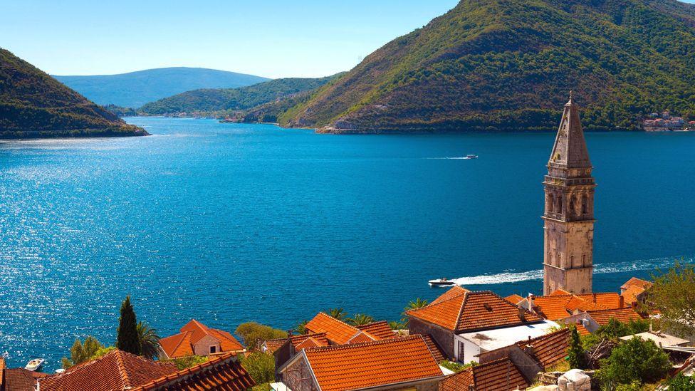 Montenegro's famous fjord-like Bay of Kotor (Credit: robertharding/Alamy)