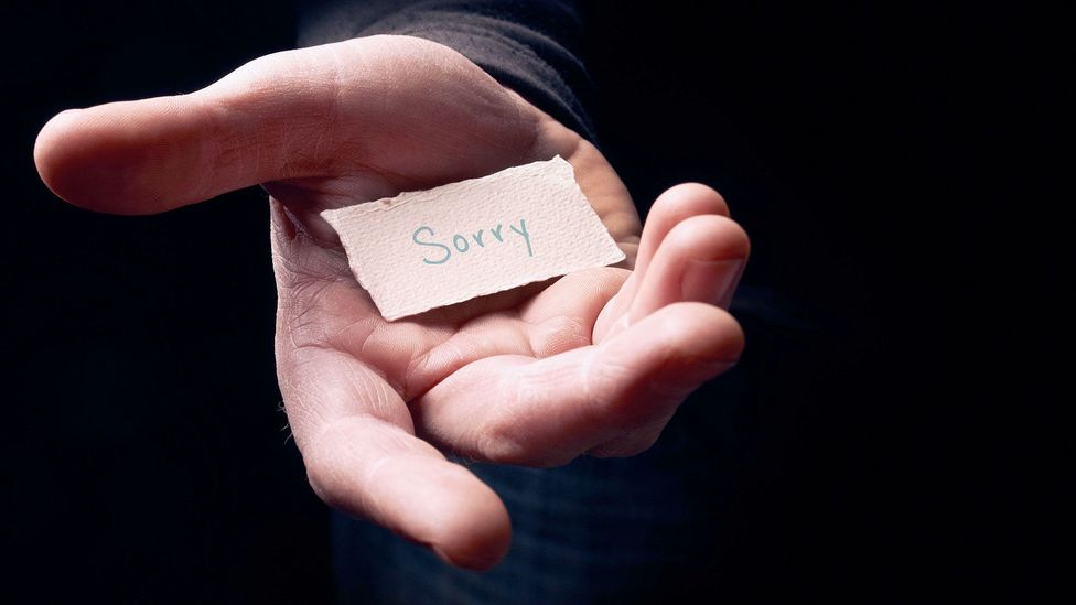 An effective apology addresses the recipients' feelings – and is likely to increase trust more than not apologising at all (Credit: Alamy)