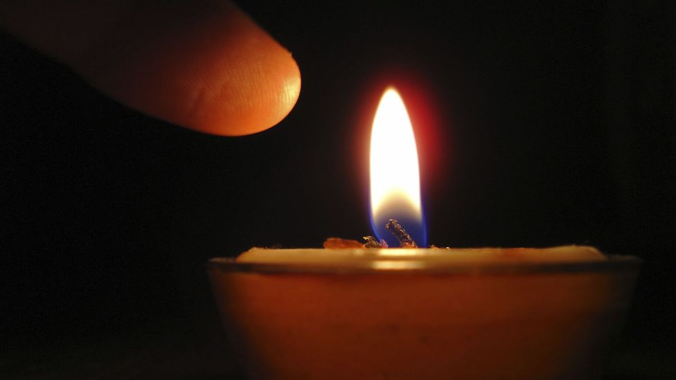 The pain from a scratch is very different from one we might feel when we put a finger in a naked flame (Credit: iStock)