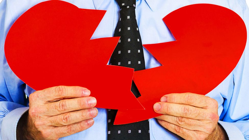 Will you be nursing a broken heart sat at your desk everyday? (Credit: iStock)