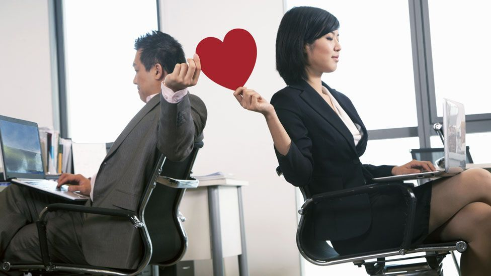 You may think no one's noticed your crush.(Credit: iStock)