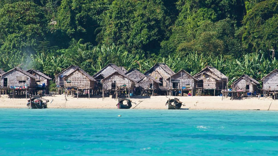 The homeland of the Moken people was badly damaged in the 2004 tsunami (Credit: Alamy)