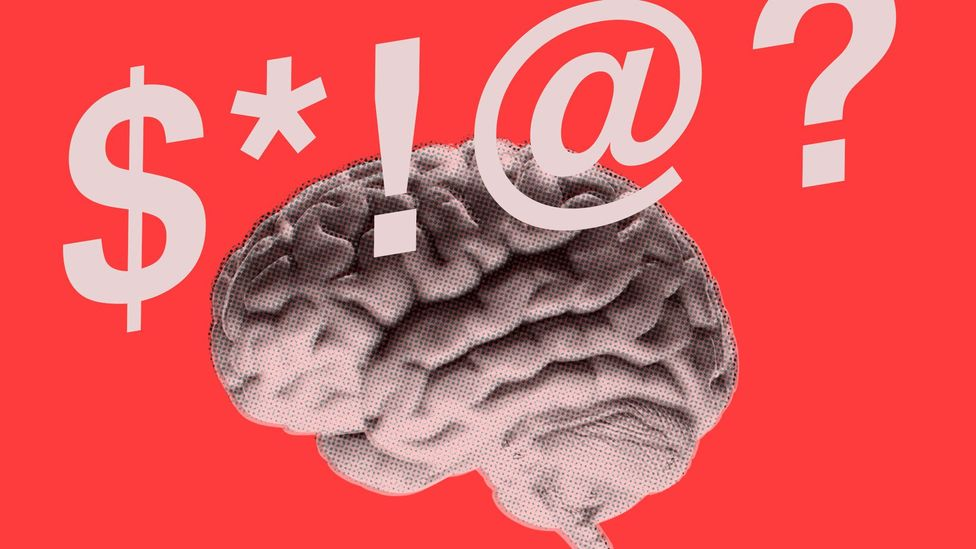Swearing may involve a completely different part of the brain to the rest of our vocabulary