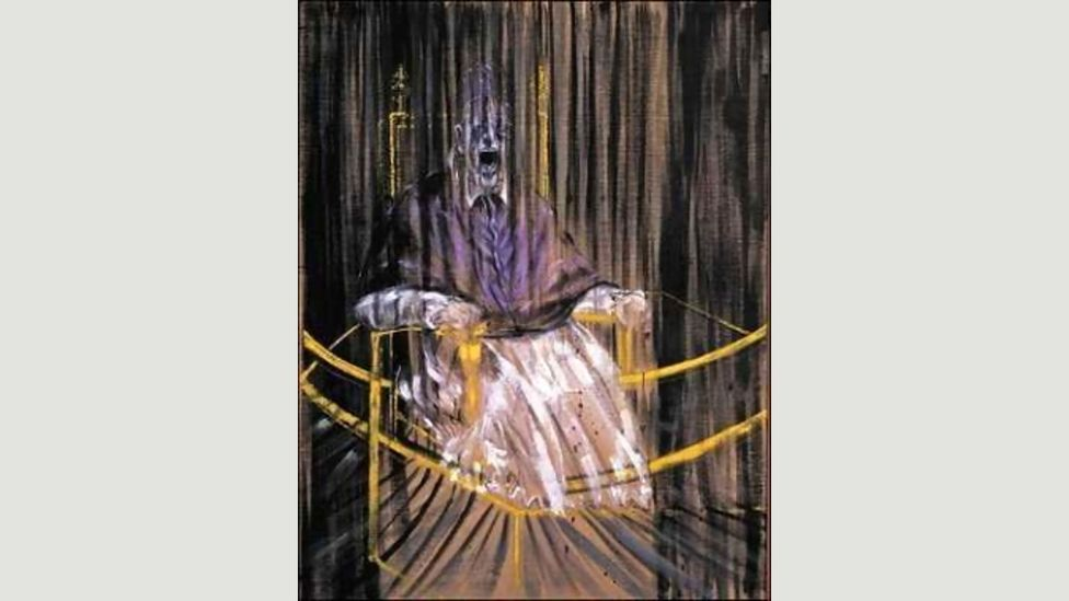 The Scream was the ancestor of Francis Bacon's pictures of howling popes, including the Study after Velázquez's Portrait of Pope Innocent X, 1953 (Credit: Francis Bacon)