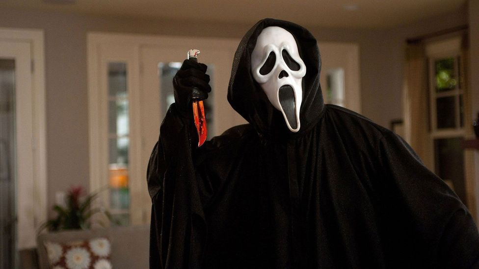 The painting appears in pop culture everywhere from The Simpsons to '90s slasher franchise Scream, with its Ghostface mask worn by the killers (Credit: Dimension Films)