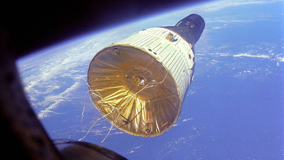 The modified Gemini would have carried nine astronauts (Credit: Nasa)
