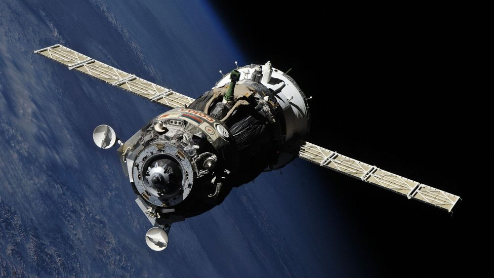 The Soviets planned to equip a Soyuz spacecraft with a gun to knock out US satellites (Credit: Science Photo Library)
