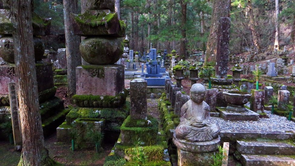 Okunoin Cemetery is in the ancient, sacred village of Koya-San (Credit: Adam H. Graham)