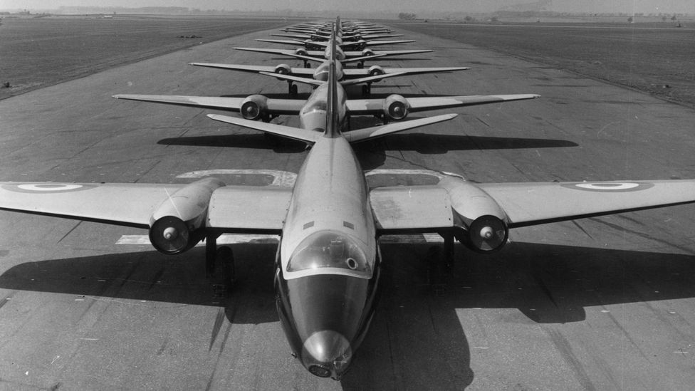 Canberras were designed as bomber aircraft, but the design proved useful for other roles (Credit: Getty Images)