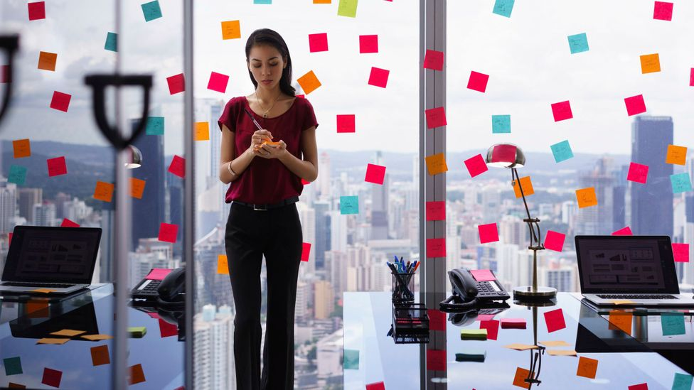 You can never have enough post-it notes. (Credit: iStock)