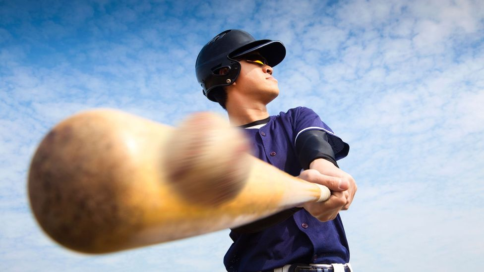 Pro baseball players only have a few milliseconds to react to a ball, far too little for their conscious mind to contend with (Credit: Alamy)
