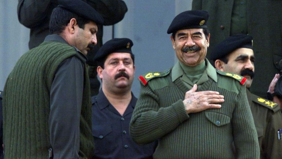 Bull, then a leading artillery expert, chose to work for Saddam Hussein in return for funding for Big Babylon (Credit: Getty Images)