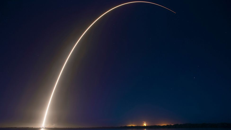 """""""For now, with the work Elon Musk is doing with SpaceX, there's no room for a project like Quicklaunch,"""" says Hunter (Credit: SpaceX/Public Domain)"""