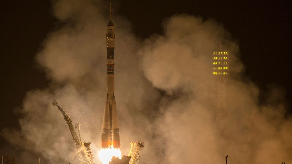 Conventional rocket launches use multiple stages to reach orbit (Credit: Getty Images)