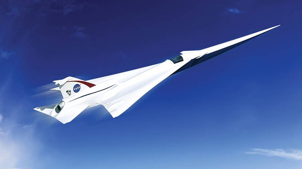 Nasa and Lockheed will collaborate on a new supersonic demonstrator (Credit: Nasa)