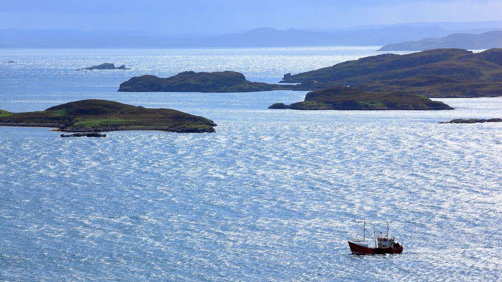 The view from Achiltibuie of Achnahaid Bay on Scotland's northwest coast (Credit: Prisma Bildagentur AG/Alamy)