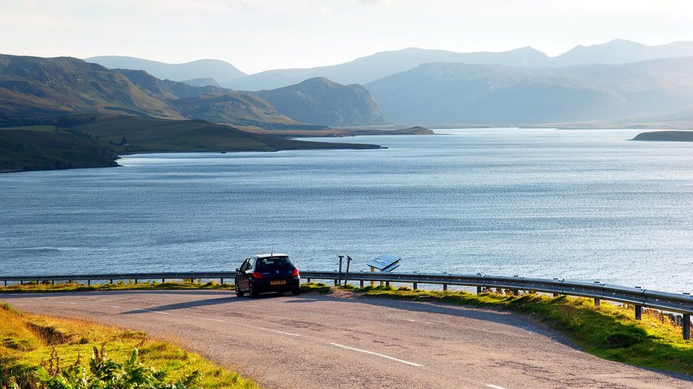 A stop along the North Coast 500 at Loch Eriboll in northwest Scotland (Credit: Iain Sarjeant/North Highland Initiative)