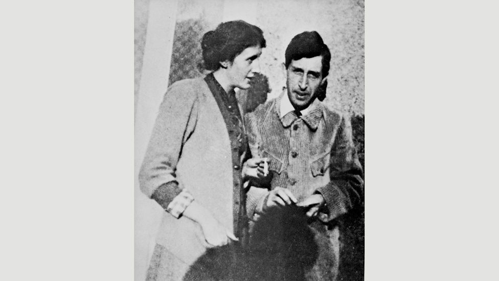 Virginia and Leonard Woolf photographed in 1914 (Credit: Granger, NYC./Alamy)